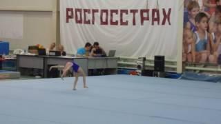 Спортивная гимнастика. Девочки. 2-ой юношеский разряд. Вольные.