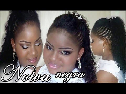Penteado Moicano E Maquiagem Para Noivas Negras