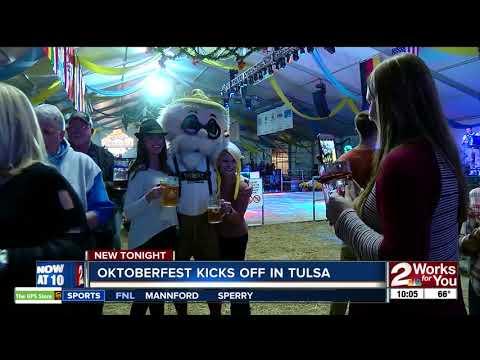 Oktoberfest Kicks Off In Tulsa