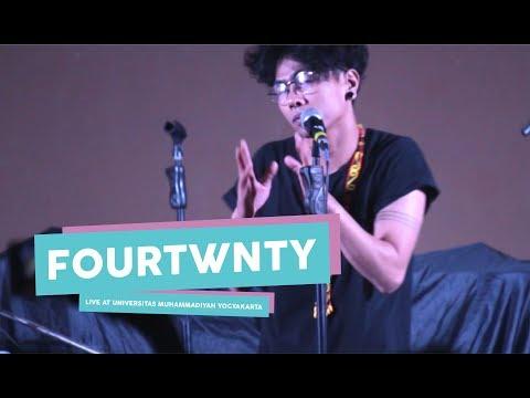 [HD] Fourtwnty - Hitam Putih  (Live at Universitas Muhammadiyah Yogyakarta, Mei 2017)