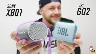 ???? Sony SRS-XB01 vs. JBL GO 2: Souboj dostupných mini-repráčků | WRTECH [4K]