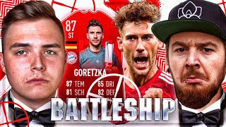FIFA 19 BATTLESHIP WAGER POTM GORETZKA  ALS STÜRMER 🔥