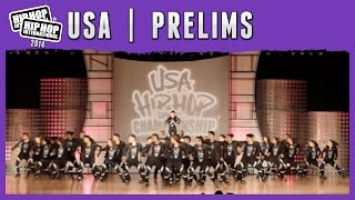 Studio One - Orlando, FL (MegaCrew) at the 2014 HHI USA Prelims