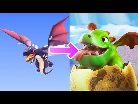 HOW BABY DRAGONS ARE MADE!?! | Clan Games Mode | Clash Of Clans