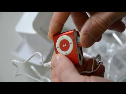 mp3 Player unpacking