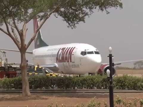Minister of Information and Culture Lai Mohammed Assess Kaduna Airport