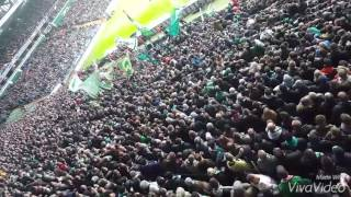 SV Werder Bremen 4-1 Hannover 96 | Ostkurve Stimmung |