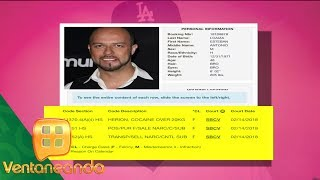 Esteban Loaiza detenido por posesión de drogas   Ventaneando