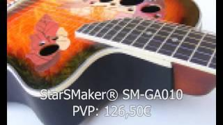 Guitarras y Bajos.Catalogo Navidad StarSMaker® 2011. Parte 1 Guitarras y Bajos