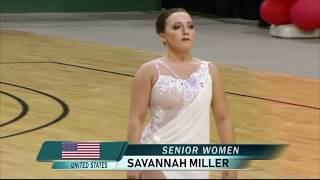 Baton Twirling - Savannah Miller - 2018 World Silver Medalist