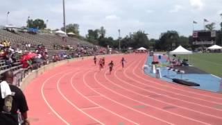 Sky Samuel's 100m Prelim Thumbnail