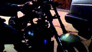 Moteur quad 110 sur ma pocket bike