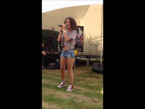 Eloise Gray Singing Ed Sheeran Lego House