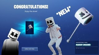 *NEW* HOW TO UNLOCK MARSHMELLOW PICKAXE IN FORTNITE BATTLE ROYALE (NEW COOL PICKAXE)