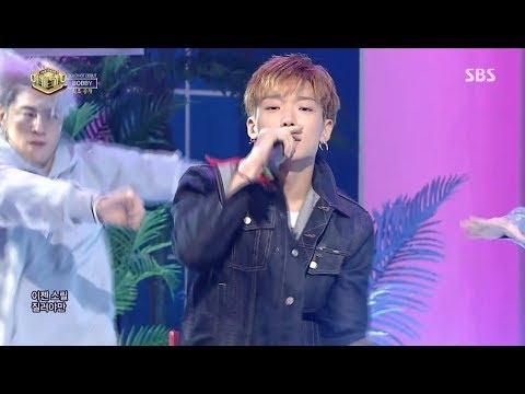 BOBBY - '사랑해(I LOVE YOU)' 0924 SBS Inkigayo