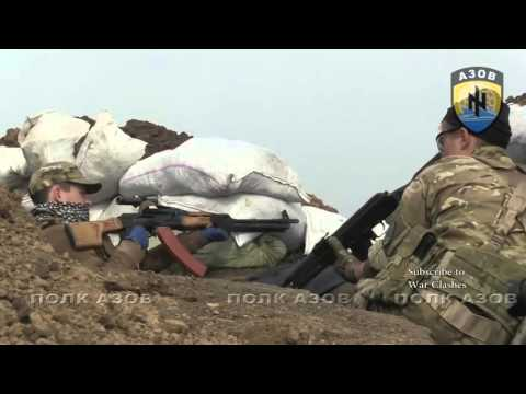 War in Ukraine : Intense Combat Footage