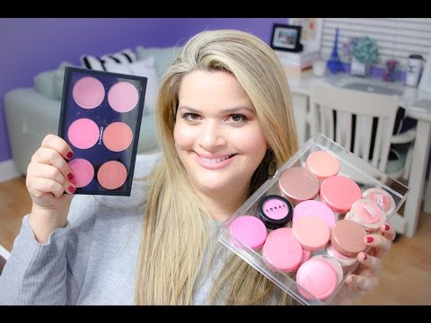Makeup Collection Series: My Blush Collection