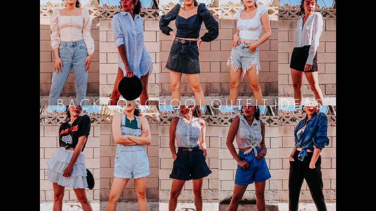 [VIDEO] - 10 Back To School Outfit Ideas, 2019 | Nicole Lobendino 3