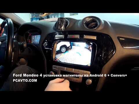 Ford Mondeo 4 установка магнитолы на Android 6 + Convers+