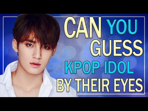 CAN YOU GUESS KPOP IDOL BY THEIR EYES? #1 | KPOP QUIZ, KPOP CHALLENGE #3