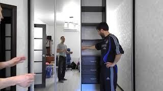 видео Встроенный шкаф купе - купить недорого на заказ от производителя