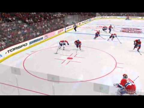 Reinprecht Finds Repik For A Beautiful One Timer Goal (NHL 11 Be A GM)