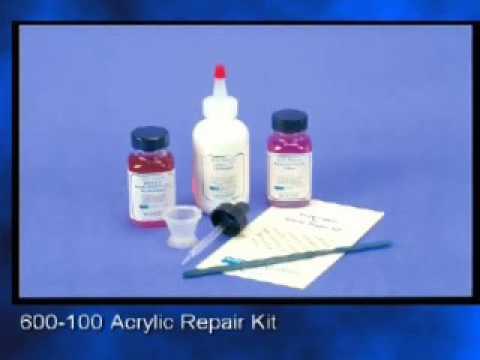 Acrylic Repair Kit - YouTube