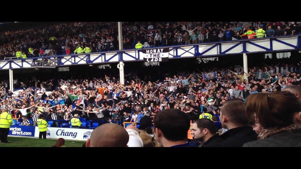 Fan chants after Everton V Newcastle 13/5/2012 - YouTube