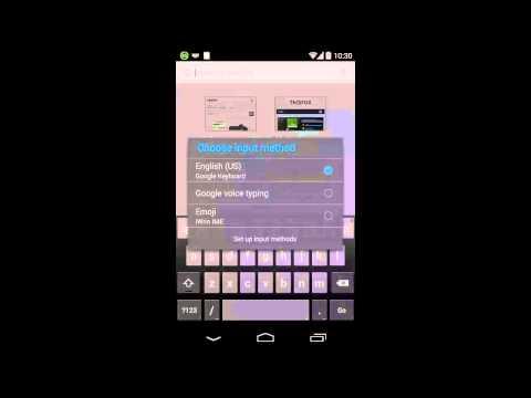 Enabling Emoji Input Method (Keyboard) In Android Phones
