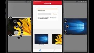 Apresentando o Anydesk Mobile