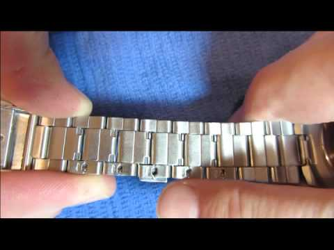 WATCH BAND ADJUSTMENT / RESIZE - HOW TO