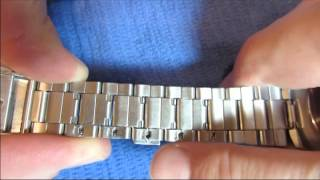 watch band adjustment resize how to