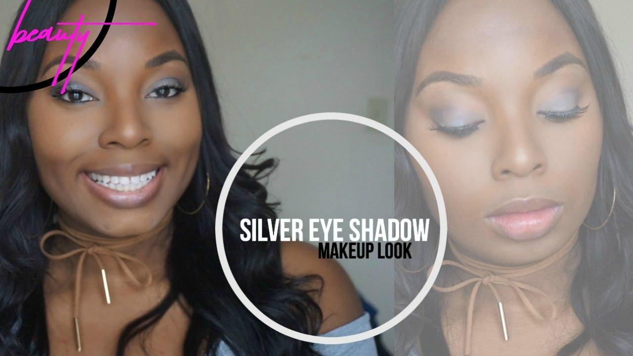 Easy Silver Eyeshadow Look using E.L.F Cosmetics Eyeshadow Palette