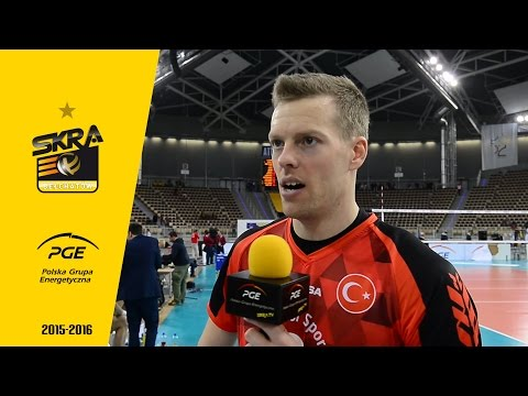 Marcus Nilsson post-match interview after PGE Skra - Ziraat Bankasi Ankara 3:1