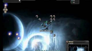 DarkOrbit Blue Goliath Hunting