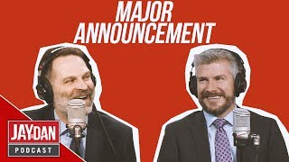 The boys have a MAJOR announcement about this upcoming fall in S2, E36 of the Jay and Dan Podcast