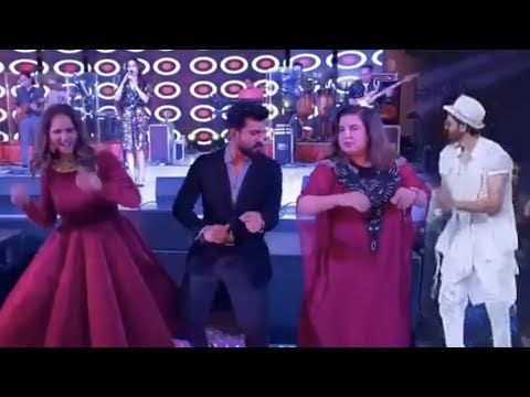 hrithik-roshan-dheeme-dheeme-and-ghungroo-song-dance-with-kartik-aaryan- -ram-charan,-farah-&-sania
