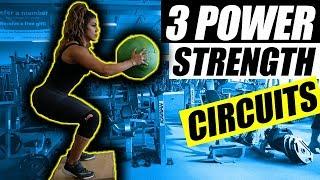 Top 3 Workout Circuits | Build Power & Strength