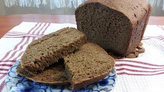 """Ржаной хлеб """"Заварной"""". Рецепт ржаного хлеба в хлебопечке """"Panasonic SD-2501"""""""
