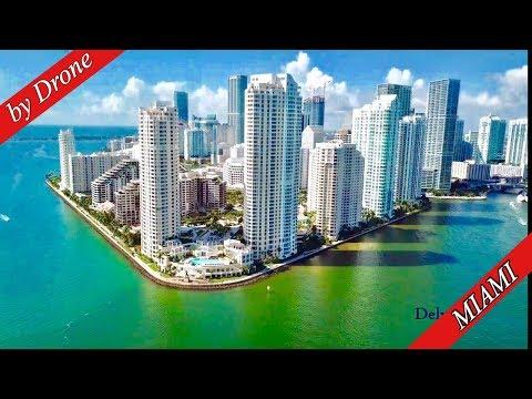 Skyline Miami by Drone 2019