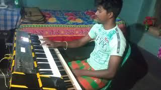 New Santali Song Rail gadi do keyboard cover by bullet saren screenshot 4