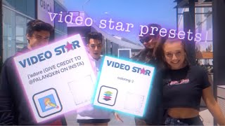 Video Star Presets | transitions, shakes, cubes and colorings!