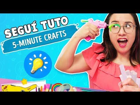 I tried 5-Minute Crafts DIYs  Craftingeek