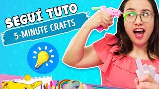 I tried 5-Minute Crafts DIYs ✄ Craftingeek