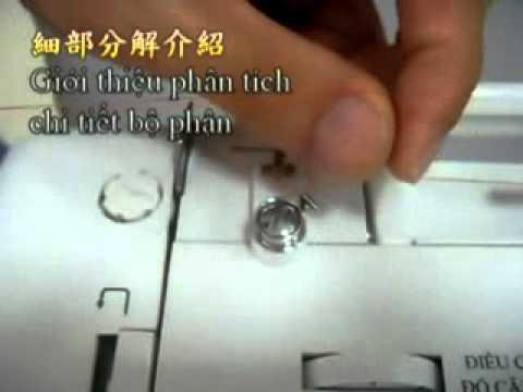 Hướng dẫn sử dụng máy khâu mini - Phần 1
