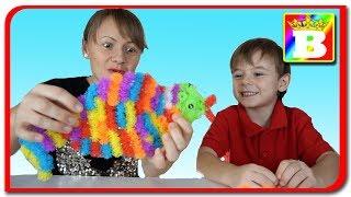 Thorn Ball Clusters  Bilute Spinoase  Construim cu bilutele spinoase si colorate Bogdan`s Show