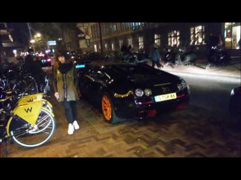 Bugatti Veyron Super Sport in Amsterdam Hotel W