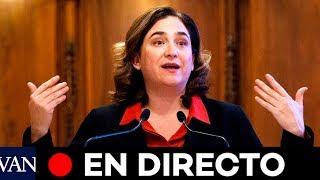 DIRECTO: Colau informa sobre la última hora del coronavirus en Barcelona