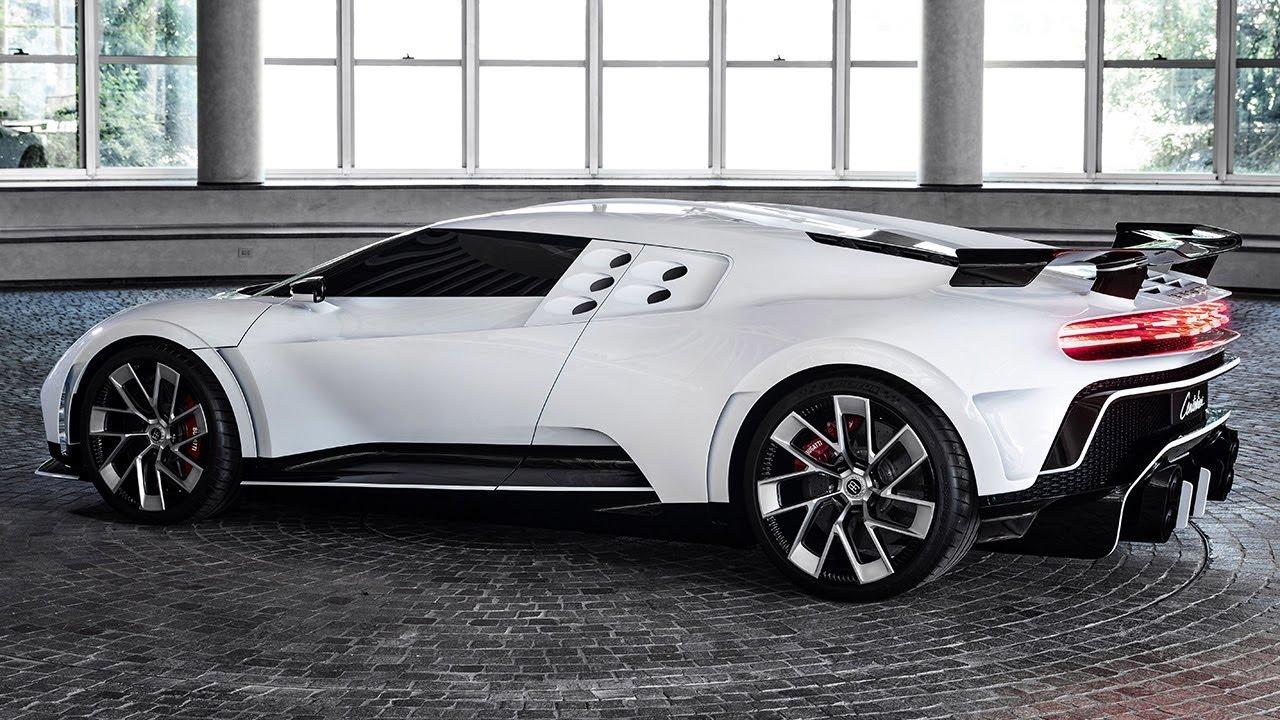 Bugatti Centodieci - French luxury brand echoes historic ...
