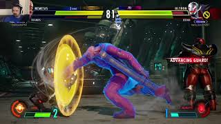 MvC Infinite: Week 2 Online Play pt40 - vs. Ultron/Jedah